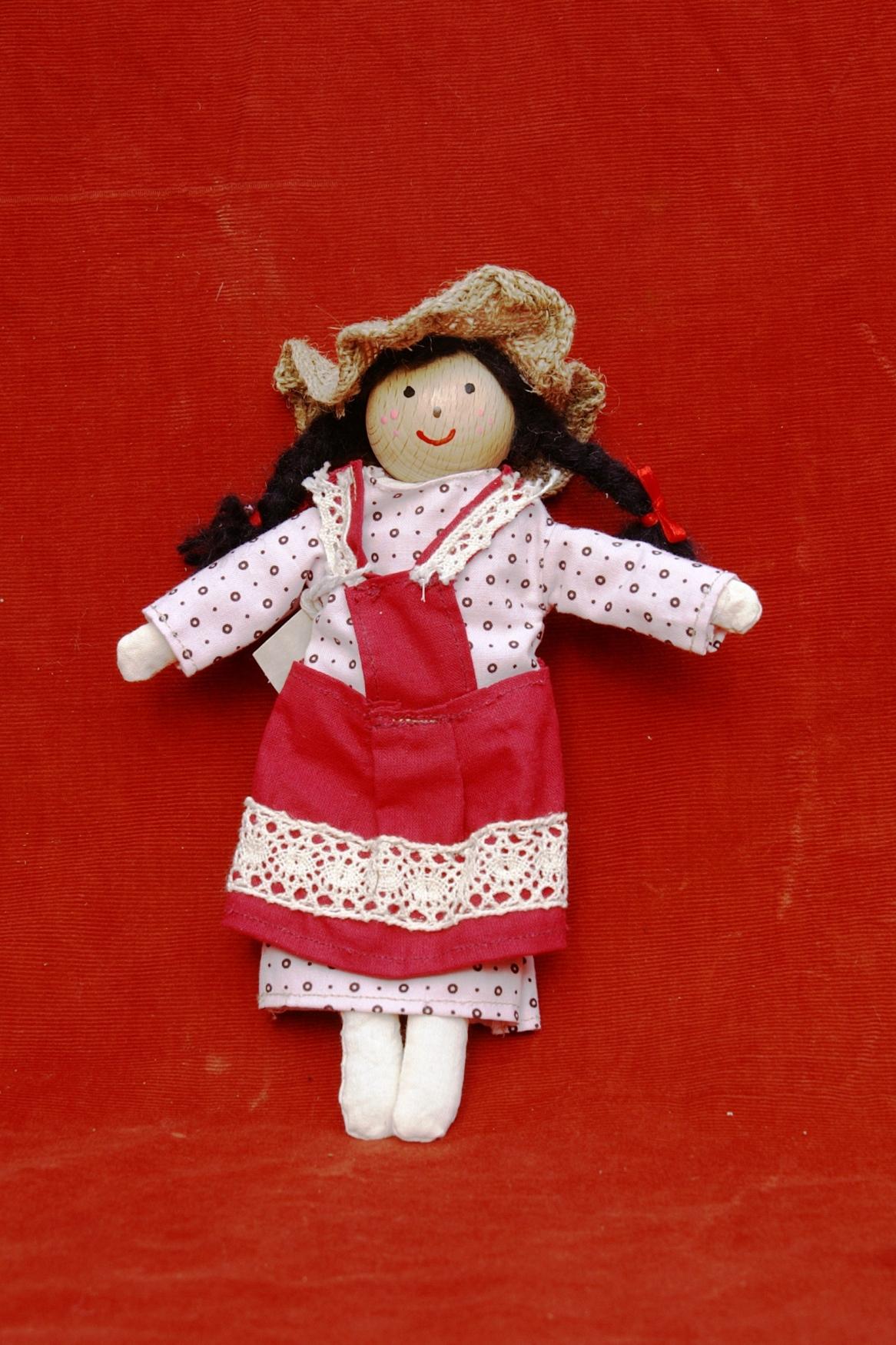 Seljančica -krpena lutka